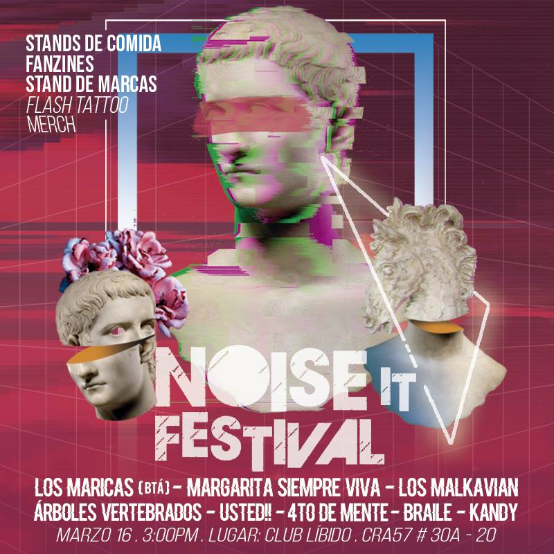 Descubran el Noise It Festival con esta playlist de HagalaU