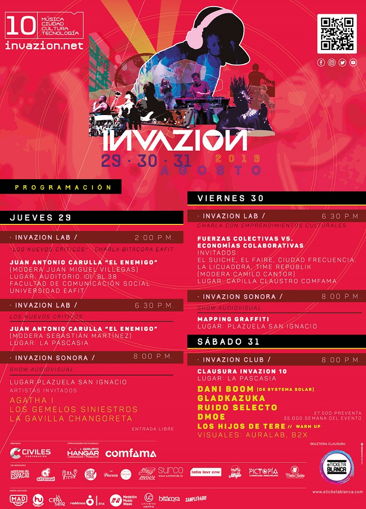 Program Invazion10 Agosto 29 31 01 01